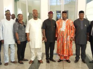 Senate committee on work at Government House Uyo