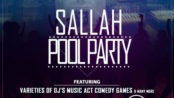 Sallah Pool Party @ The Yatch Lounge, inside Kenfeli Palmbeach Hotel, Gwarri avenue, Barnawa, Kaduna. @Theyatchlounge call 08037202292