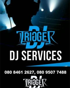 Twitter:- @DJTriggermike ; IG:- amiseh_michael ; GSM:- 08095077488 & 08084612627