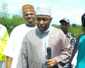 Senator Kabiru Gaya, Chairman, Senate Committee on Works