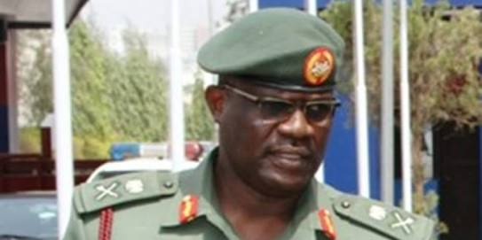 General Officer Commanding, 1 Division Nigerian Army, Major General Adeniyi Oyebade.