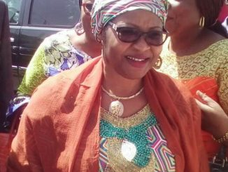 Sen. Nenadi Usman at Wadata House
