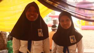 Khairat Abubakar and Fatima Tukur